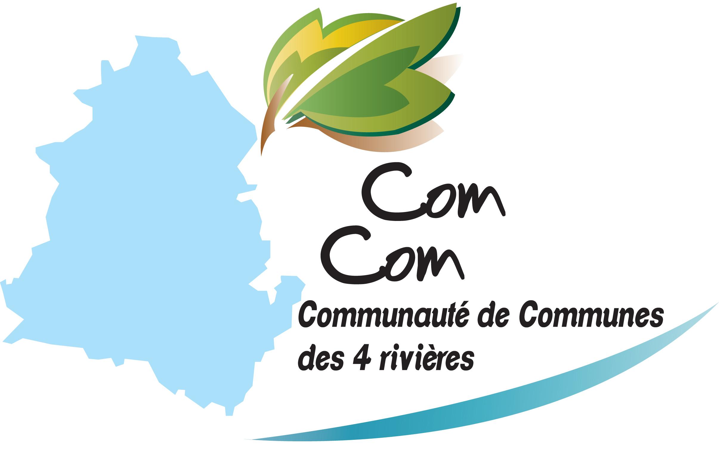 Logo Communauté de Communes des 4 Rivières
